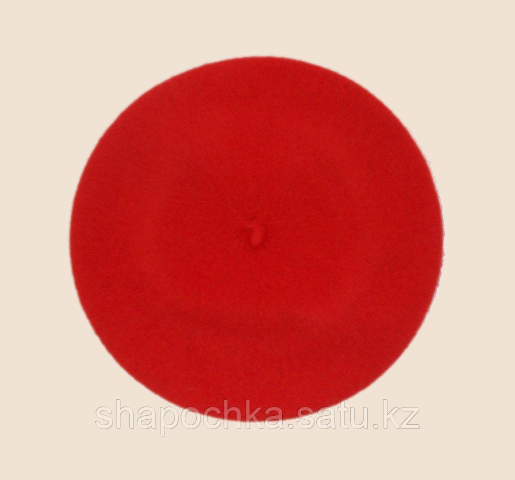 Берет фетр мурзилка  Красный