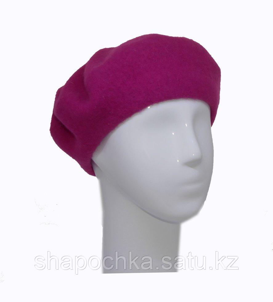 Берет фетр мурзилка  Розовый