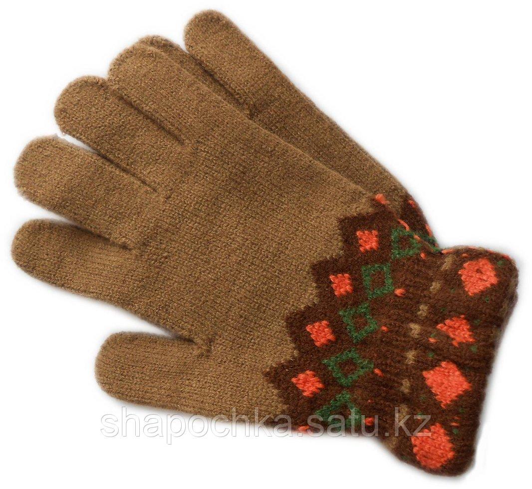 Перчатки Анна узор