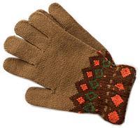 Перчатки Анна узор, фото 1