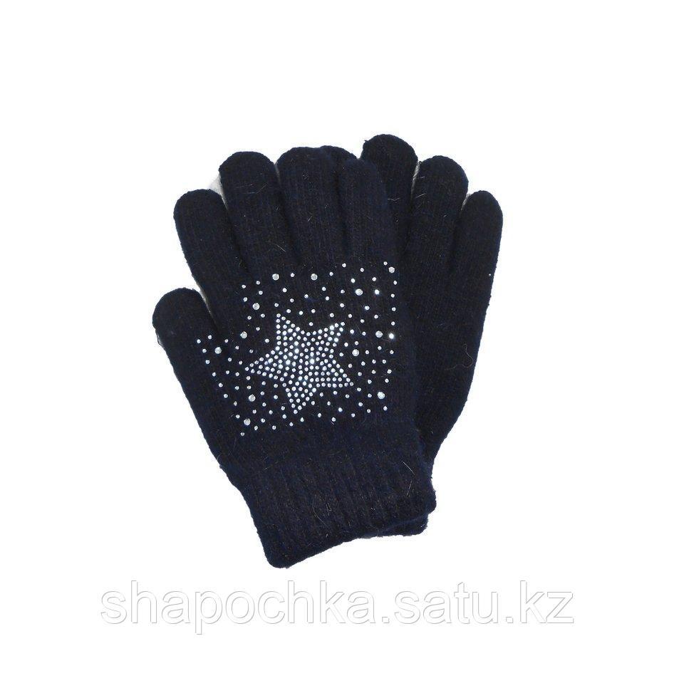 Перчатки дев Geting звезда из страз