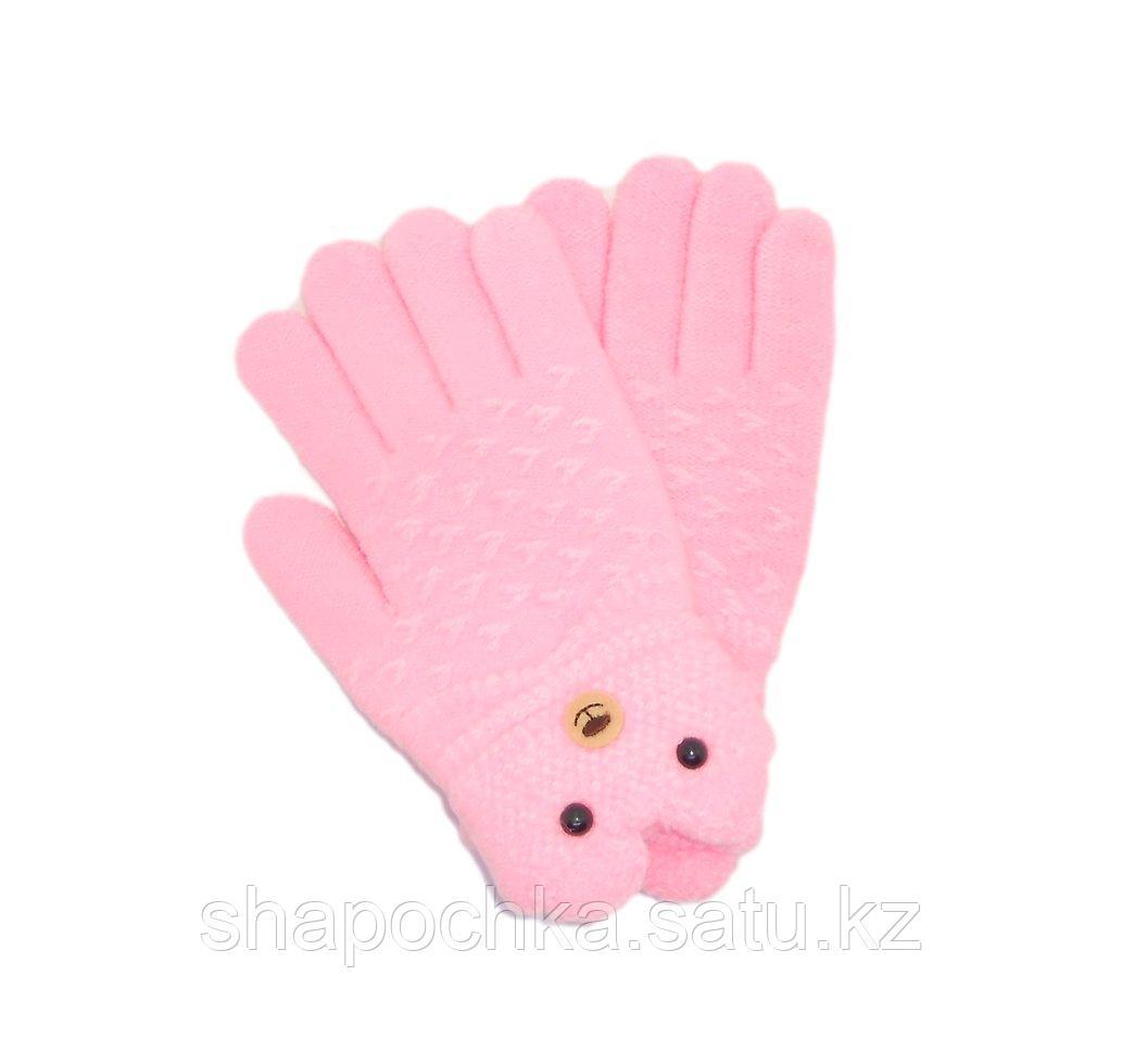 Перчатки дев Liliya мордочка