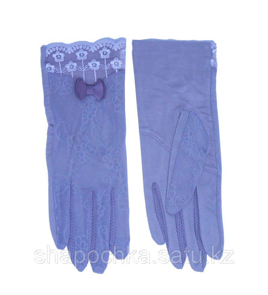 Перчатки жен летние гепют бантик
