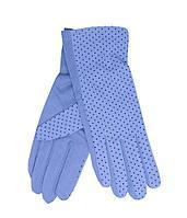 Перчатки жен летние горох