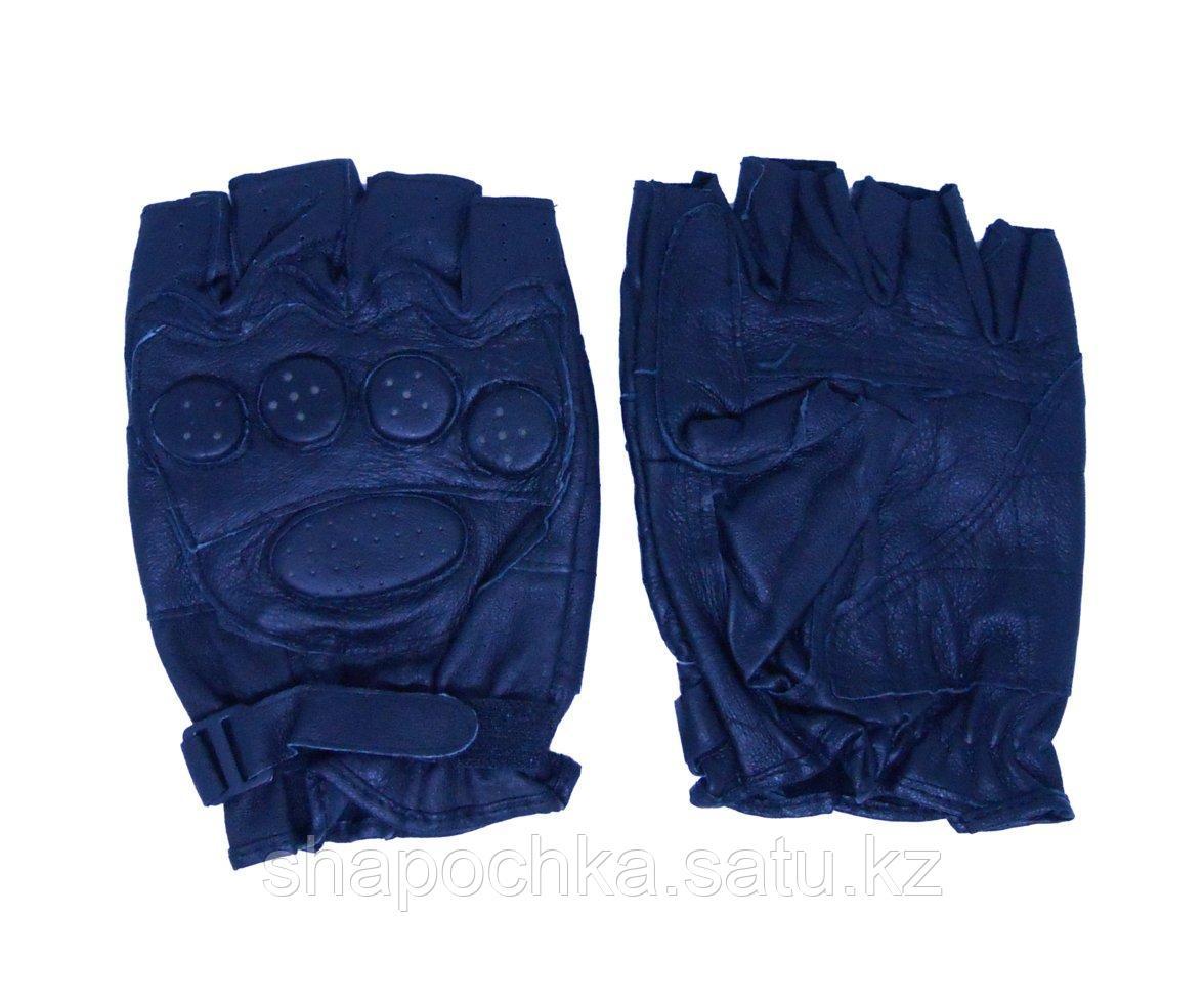 Перчатки спорт без пальцев пуговки казанки