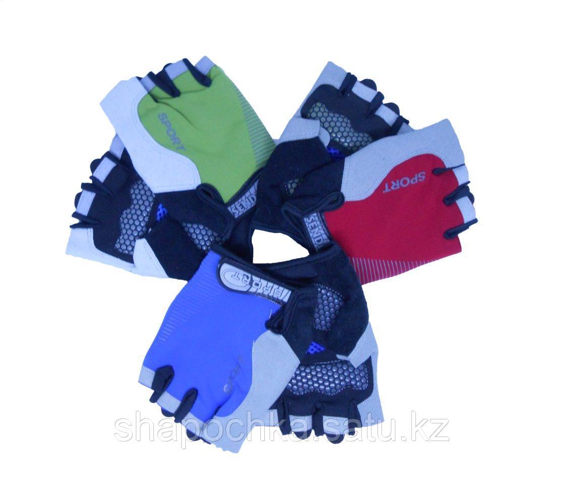 Перчатки спорт эласт без пальцев