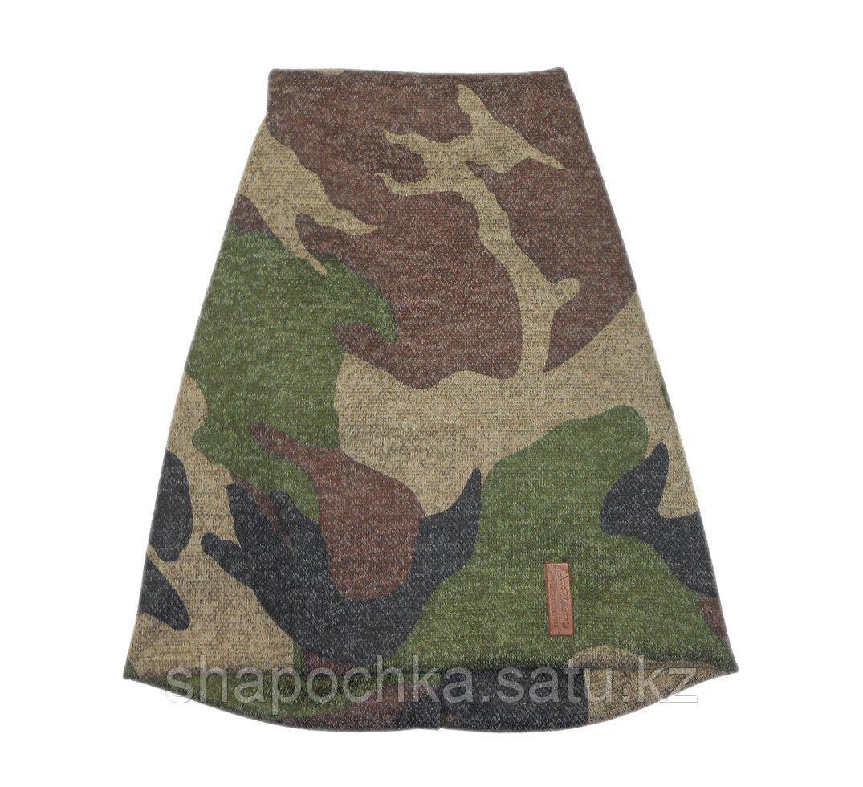 Шапка унив Classic камуфляж удлин Св.зеленый