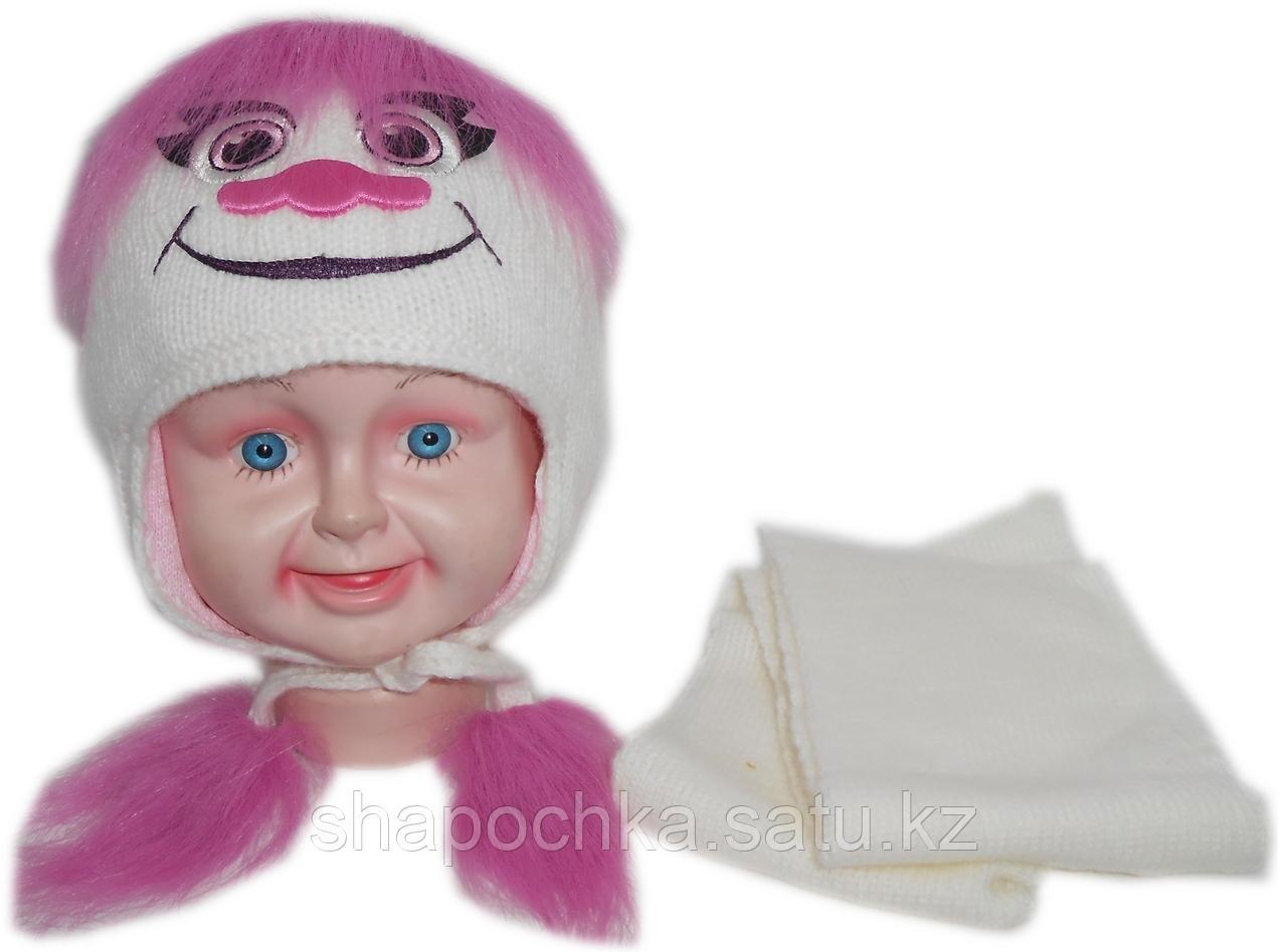Шапка+шарф AMAL тролли