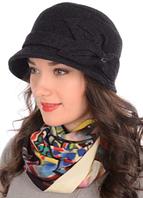 """Шляпа """"Сиринга"""" D-652 Черный, 58р."""