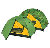 Палатка туристическая двухместная SY-А14 (0,4+0,4+2,1)х1,5х1,1м
