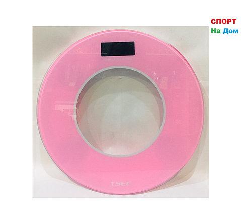 Весы напольные электронные Aote (цвет розовый), фото 2