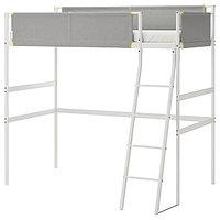 Кровать-чердак ВИТВАЛ белый, светло-серый ИКЕА, IKEA