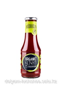 Безглютеновый Кетчуп Organic томатный классический Rudolfs 530 гр
