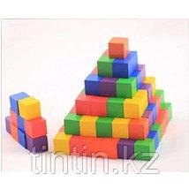 Набор цветных кубиков «Комбинация», 100 шт, фото 2