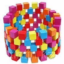 Набор цветных кубиков «Комбинация», 100 шт, фото 3