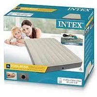 Полутороспальный надувной матрас Intex 64102/64708 Deluxe Single-High Airbed 137x191x25 см