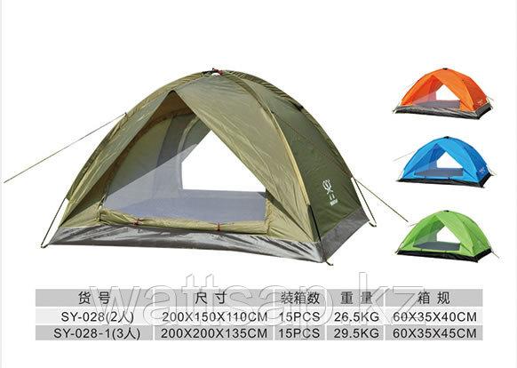 Туристическая палатка Shengyuan 2-х местная SY-028