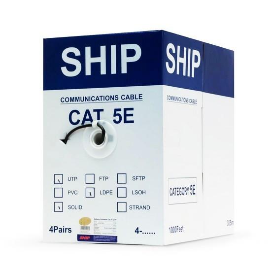 SHIP D106, Cat.5e, UTP, 30В, 4x2x1/0.51мм
