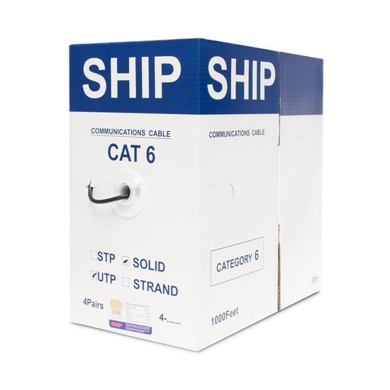 SHIP D186-P, Cat.6, FTP, 30В, 4x2x1/0.574мм