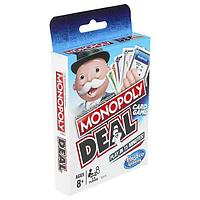 Hasbro Monopoly Настольная игра карточная Монополия СДЕЛКА