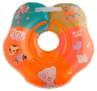 Круг надувной на шею для купания малышей Roxy Kids (Оранжевый)
