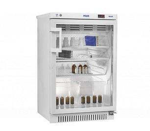 Фармацевтический холодильник POZIS со стеклянной дверью