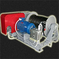 Лебедка электрическая тяговая ТЭЛ-3 3200 кгс