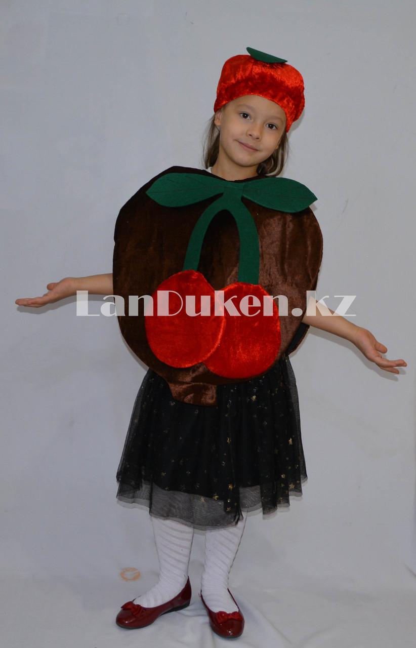 Карнавальный костюм детский овощи и фрукты вишня - фото 3