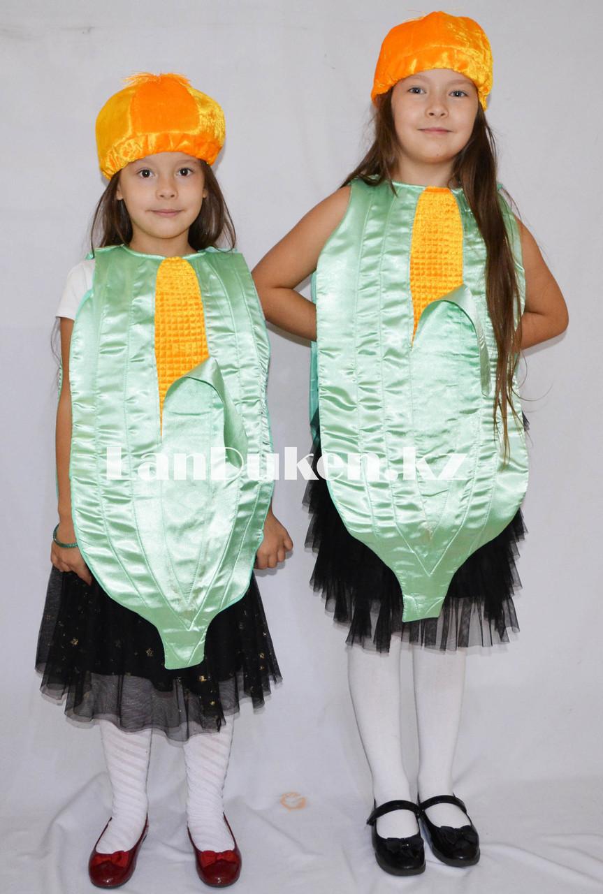 Карнавальный костюм детский овощи и фрукты кукуруза - фото 1