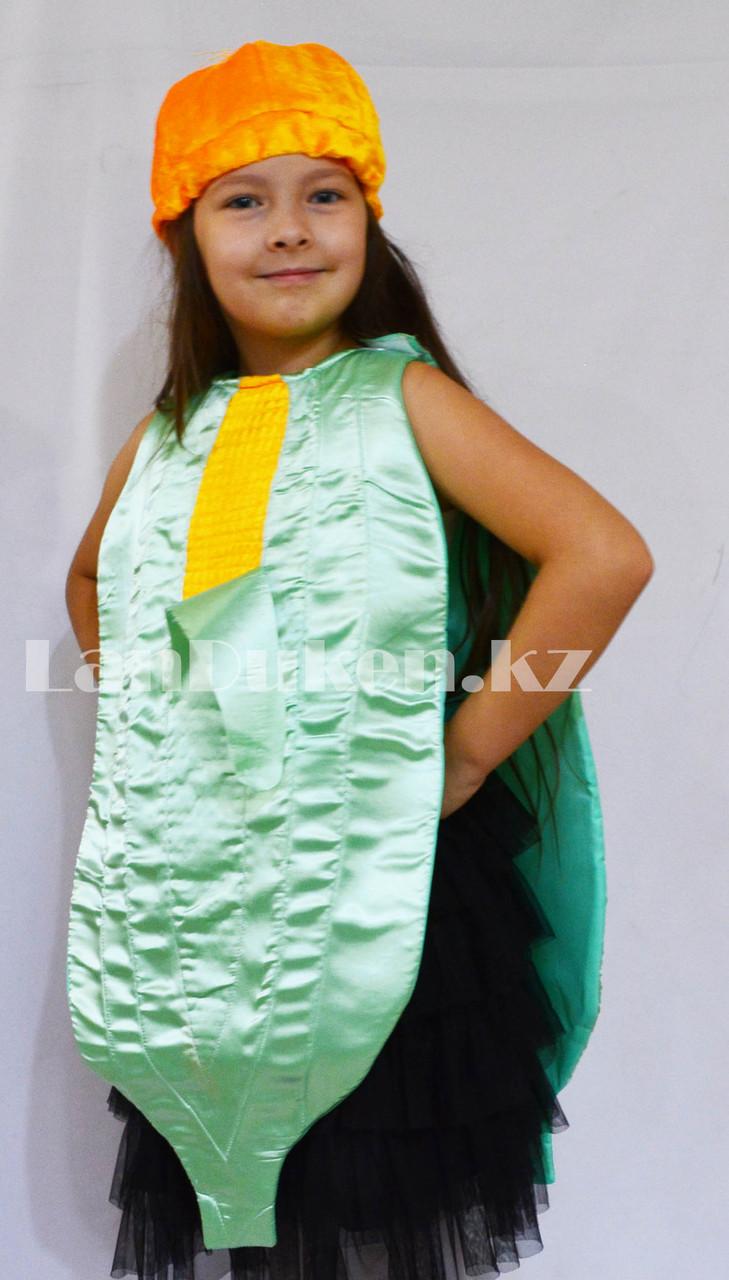 Карнавальный костюм детский овощи и фрукты кукуруза - фото 2