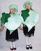 Карнавальный костюм детский овощи и фрукты редька (зеленое яблоко, болгарский перец)