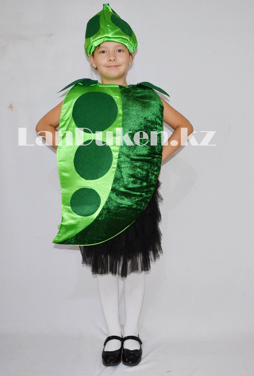 Карнавальный костюм детский овощи и фрукты горошек - фото 1