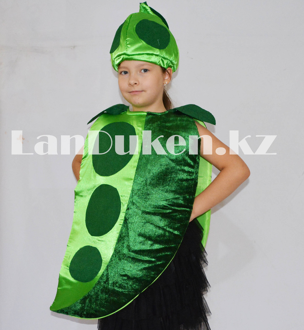 Карнавальный костюм детский овощи и фрукты горошек - фото 2
