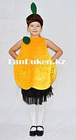 Карнавальный костюм детский овощи и фрукты груша