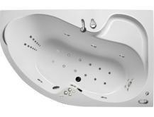 Акриловая гидромассажная ванна Аура 160х105х63 см.(Общий массаж, спина), фото 3
