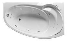 Акриловая гидромассажная ванна Джуллиана 160х95х65 см.(Общий массаж), фото 3