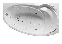 Акриловая гидромассажная ванна Джуллиана 160х95х65 см.(Общий массаж), фото 2