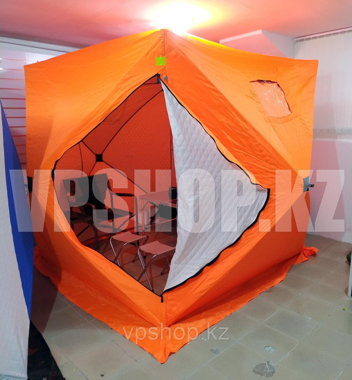 КУБ палатка утепленная 2.2х2.2 с синтепоном, доставка
