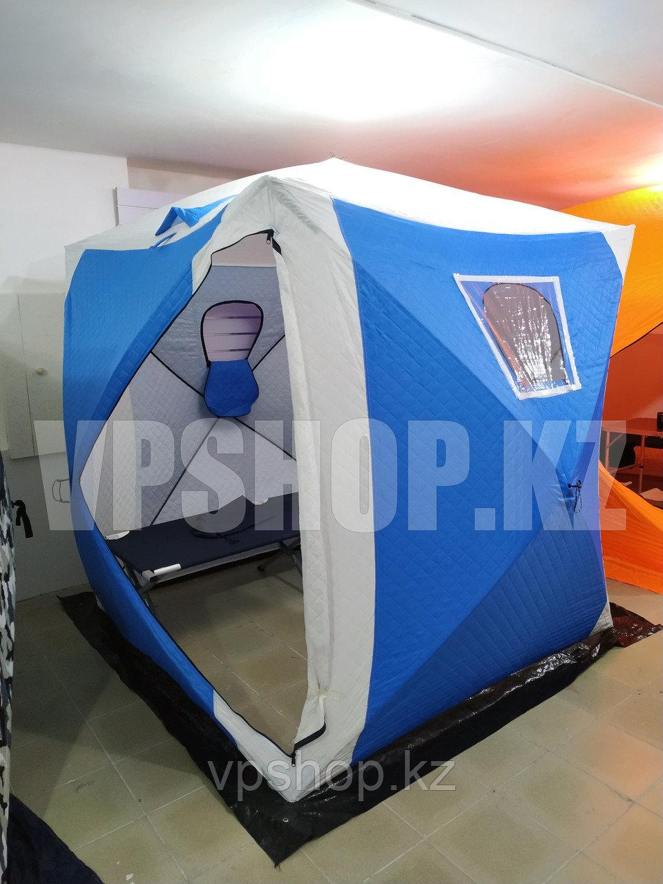 КУБ палатка утепленная 2х2 с синтепоном, доставка