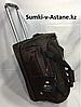 Дорожная сумка среднего размера на колесах Swissgear. Высота 38 см, длина 57 см, ширина 29 см.