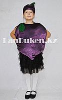 Карнавальный костюм детский овощи и фрукты слива