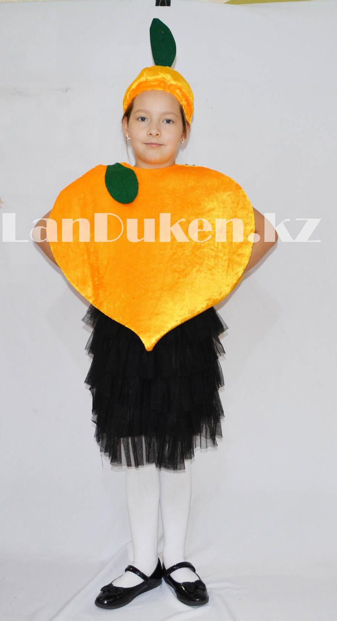 Карнавальный костюм детский овощи и фрукты репка - фото 1
