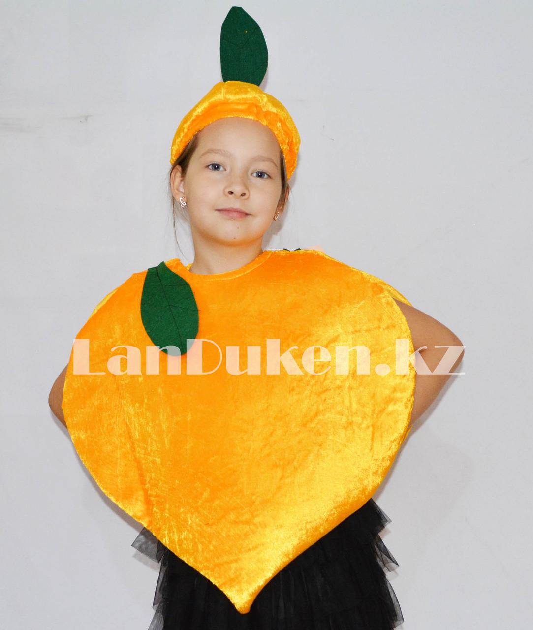 Карнавальный костюм детский овощи и фрукты репка - фото 2