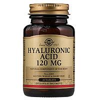 Гиалуроновая кислота Hyaluronic Acid от Солгар (30 таблеток)