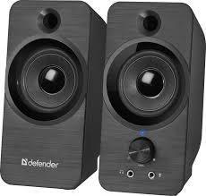 Компактная акустика 2.0 Defender SPK-190 черный