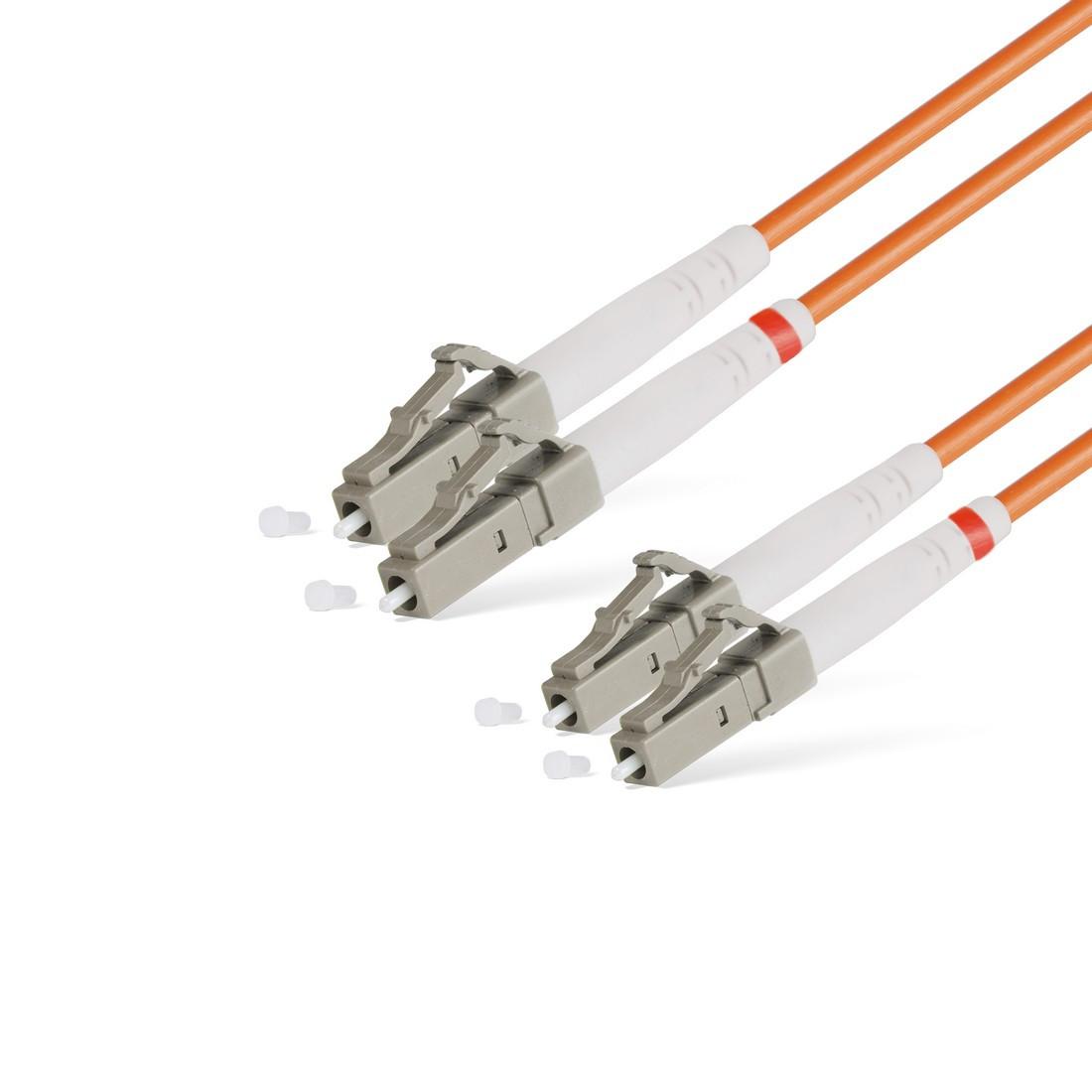 Патч Корд Оптоволоконный LCUPC-LCUPC MM OM1 62,5125 Duplex 3.0мм 2 м