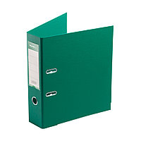 "Папка–регистратор Deluxe с арочным механизмом, Office 3-GN36 (3"" GREEN), А4, 70 мм, зелёный"