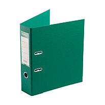 """Папка–регистратор Deluxe с арочным механизмом  Office 3-GN36 (3"""" GREEN)  А4  70 мм  зелёный"""