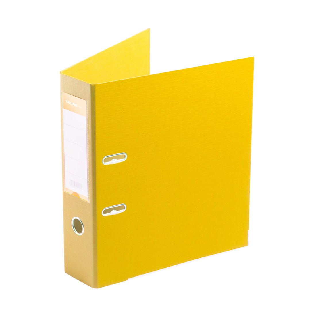 "Папка–регистратор Deluxe с арочным механизмом, Office 3-YW5 (3"" YELLOW), А4, 70 мм, желтый"