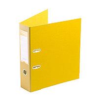 "Папка–регистратор Deluxe с арочным механизмом  Office 3-YW5 (3"" YELLOW)  А4  70 мм  желтый"